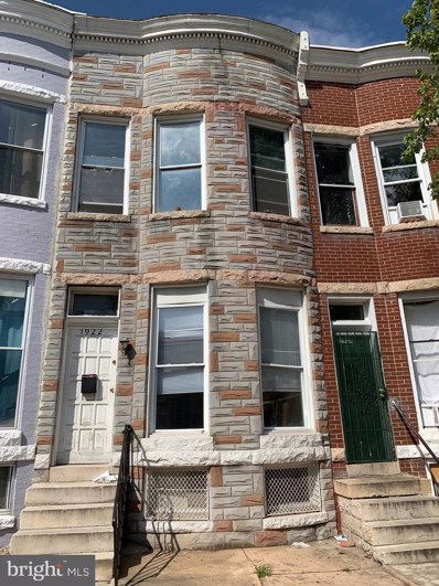 1922 Cecil Avenue, Baltimore, MD 21218 - #: MDBA522468