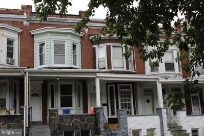 2913 Mosher Street, Baltimore, MD 21216 - #: MDBA522492