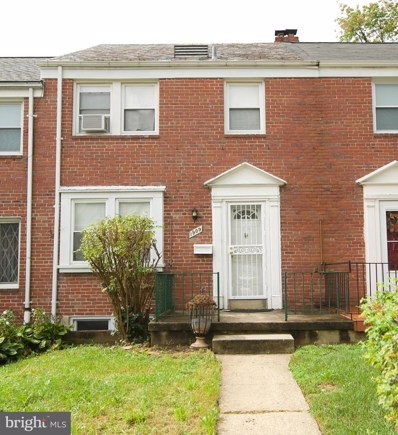 1909 Swansea Road, Baltimore, MD 21239 - #: MDBA522572