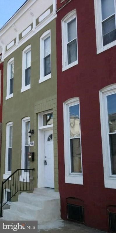 505 Laurens Street, Baltimore, MD 21217 - #: MDBA522798
