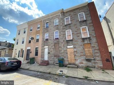 324 Furrow Street, Baltimore, MD 21223 - #: MDBA522876