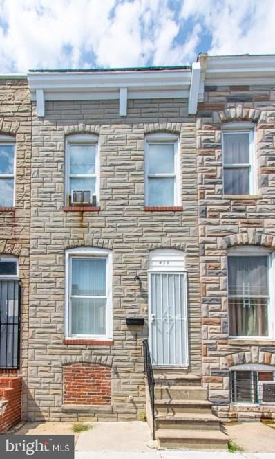 428 N Rose Street, Baltimore, MD 21224 - #: MDBA522892