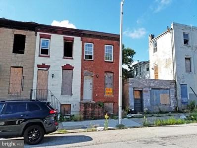 1337 W Pratt Street, Baltimore, MD 21223 - #: MDBA522898