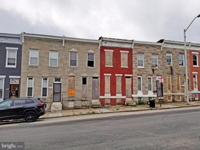 2507 W Baltimore Street, Baltimore, MD 21223 - #: MDBA523168