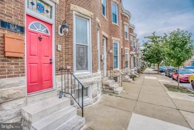624 E Fort Avenue, Baltimore, MD 21230 - #: MDBA523318
