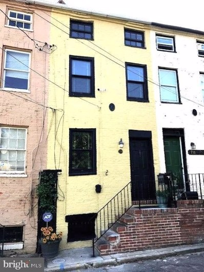 709 W Monument Street, Baltimore, MD 21201 - #: MDBA523406