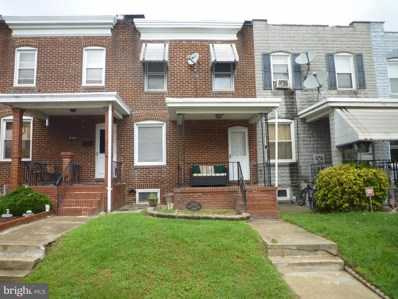 826 W 32ND Street, Baltimore, MD 21211 - #: MDBA523572