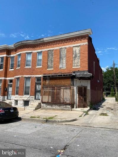1900 W Saratoga Street, Baltimore, MD 21223 - #: MDBA523604