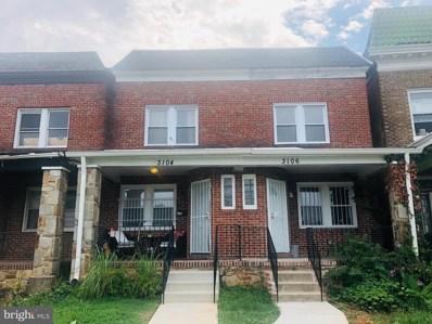 3106 Garrison Boulevard, Baltimore, MD 21216 - #: MDBA523660