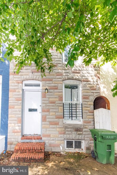 610 N Montford Avenue, Baltimore, MD 21205 - #: MDBA523824