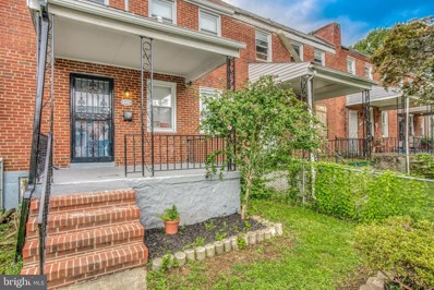 5352 Cuthbert Avenue, Baltimore, MD 21215 - #: MDBA523900