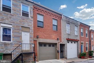 215 S Madeira Street, Baltimore, MD 21231 - #: MDBA523920