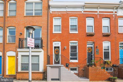 1423 Richardson Street, Baltimore, MD 21230 - #: MDBA523924