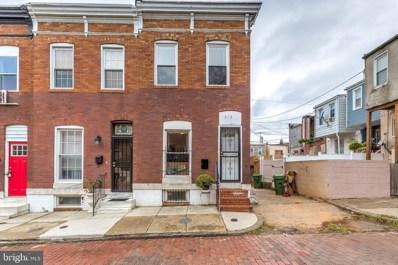 212 N Streeper Street, Baltimore, MD 21224 - #: MDBA524002