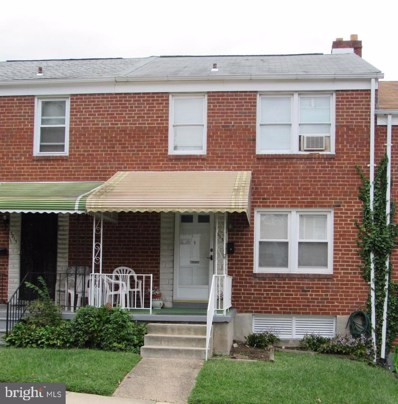 3813 Elkader Road, Baltimore, MD 21218 - #: MDBA524132