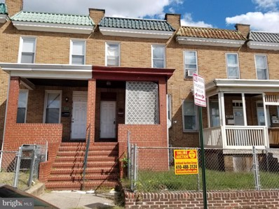 919 Brunswick Street, Baltimore, MD 21223 - #: MDBA524162