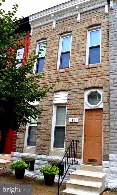 1421 N Bond Street, Baltimore, MD 21213 - #: MDBA524188