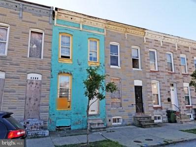 2017 Ashton Street, Baltimore, MD 21223 - #: MDBA524198