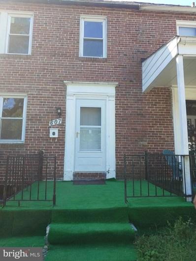 607 Winston Avenue, Baltimore, MD 21212 - #: MDBA524256