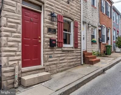 232 S Chapel Street, Baltimore, MD 21231 - #: MDBA524266