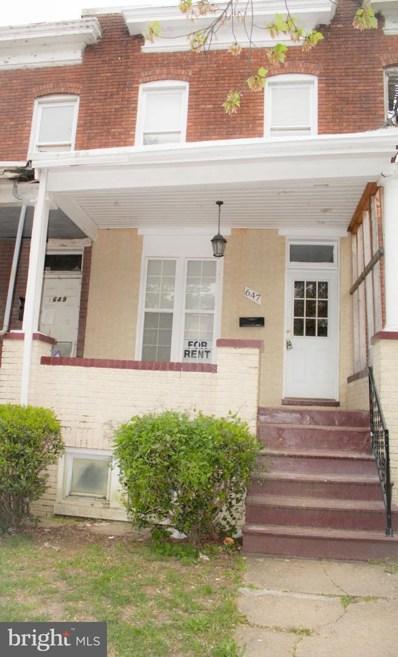 647 Bartlett Avenue, Baltimore, MD 21218 - #: MDBA524328