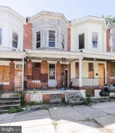 2921 Westwood Avenue, Baltimore, MD 21216 - #: MDBA524334