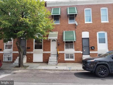 605 N Curley Street, Baltimore, MD 21205 - #: MDBA524350