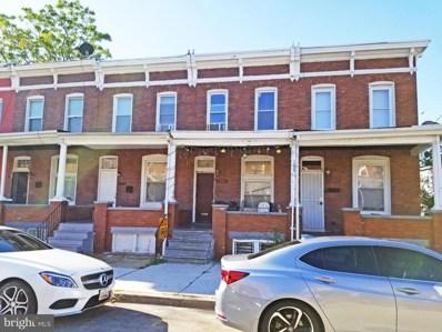 1603 E 28TH Street, Baltimore, MD 21218 - #: MDBA524440