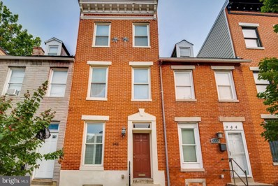 946 W Lombard Street, Baltimore, MD 21223 - #: MDBA524452