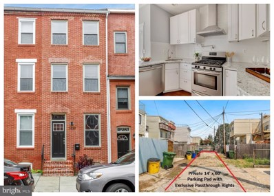 1449 Hull Street, Baltimore, MD 21230 - #: MDBA524692