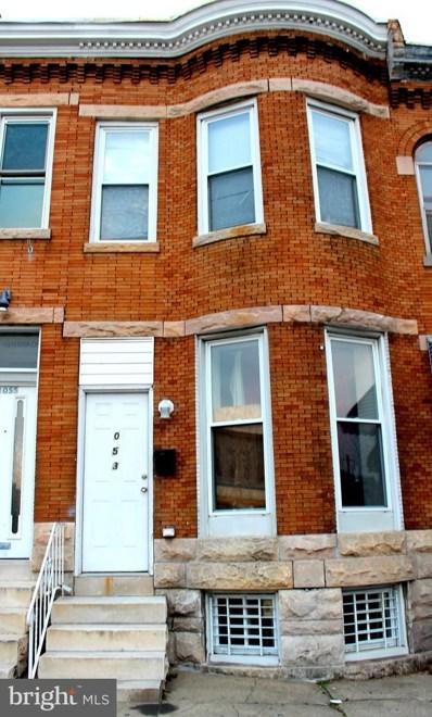 1053 N Milton Avenue N, Baltimore, MD 21205 - #: MDBA524796