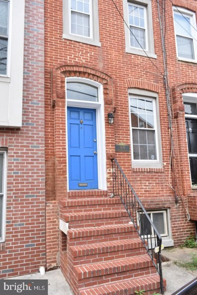 1106 William Street, Baltimore, MD 21230 - #: MDBA524840