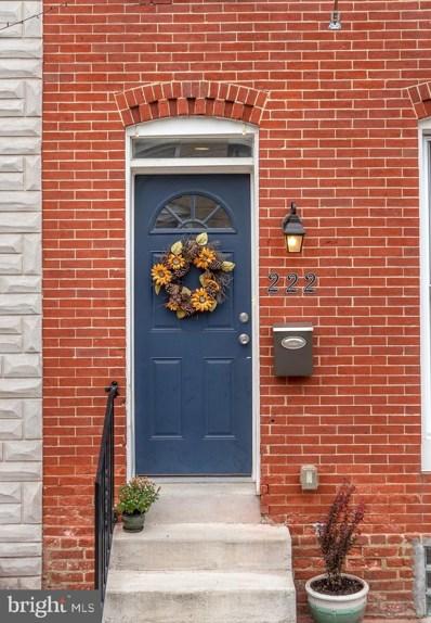 222 N Port Street, Baltimore, MD 21224 - #: MDBA524944