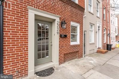 2229 Essex Street, Baltimore, MD 21231 - #: MDBA525016
