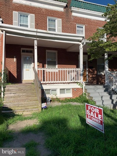 806 Unetta Avenue, Baltimore, MD 21229 - #: MDBA525580