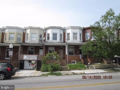 3422 Belair Road, Baltimore, MD 21213 - #: MDBA525734