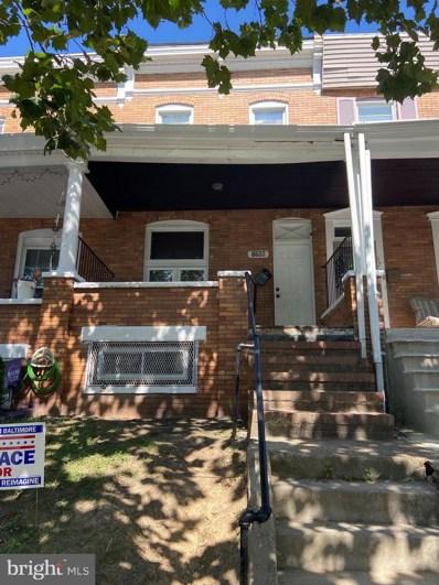 1706 E 30TH Street, Baltimore, MD 21218 - #: MDBA525738
