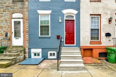 1825 W Lombard Street, Baltimore, MD 21223 - #: MDBA525772