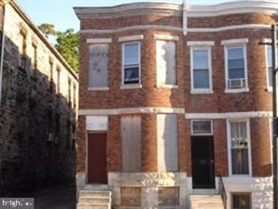1801 Riggs Avenue, Baltimore, MD 21217 - #: MDBA525786