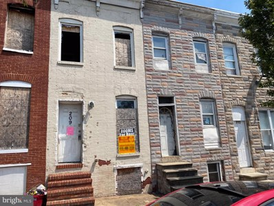 209 S Monroe Street, Baltimore, MD 21223 - #: MDBA525790