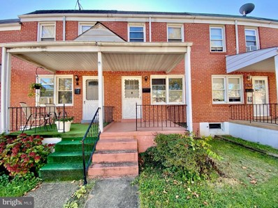 3705 Greenvale Road, Baltimore, MD 21229 - #: MDBA525882