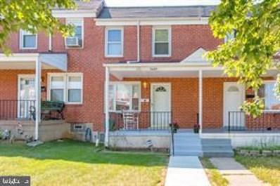 3649 Greenvale Road, Baltimore, MD 21229 - #: MDBA525886