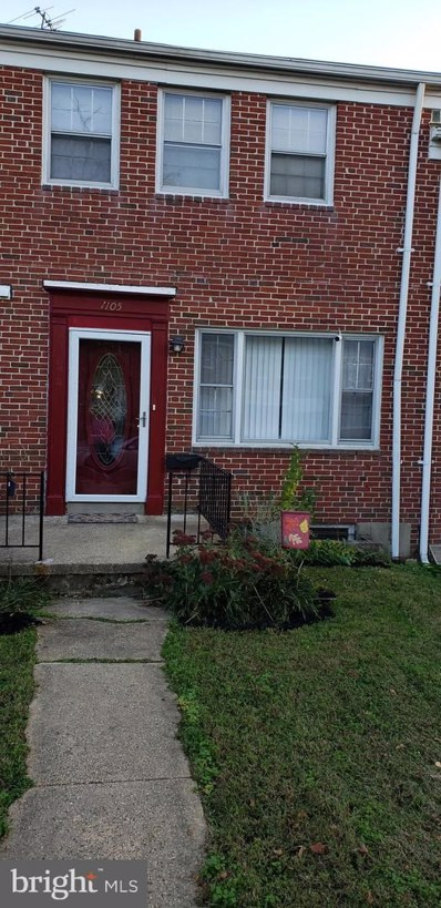1105 Elbank Avenue, Baltimore, MD 21239 - #: MDBA526126