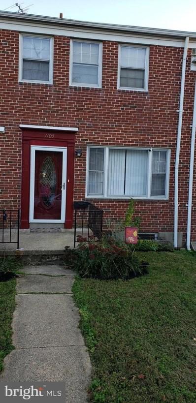1105 Elbank Avenue, Baltimore, MD 21239 - #: MDBA526126