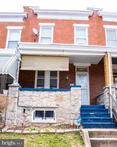 1223 N Ellwood Avenue, Baltimore, MD 21213 - #: MDBA526366