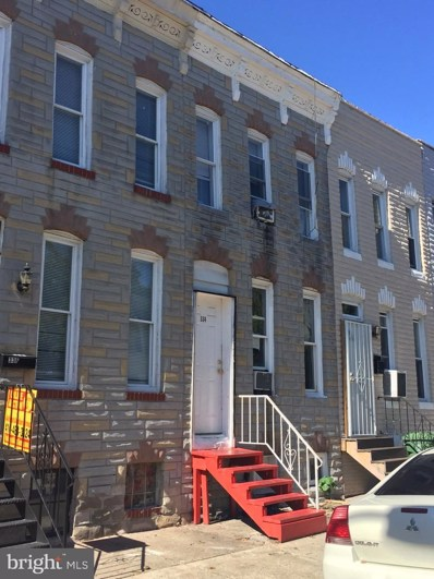 334 S Woodyear Street, Baltimore, MD 21223 - #: MDBA526470