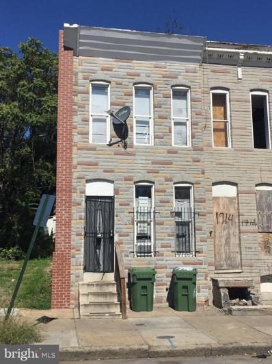 1716 Ramsay Street, Baltimore, MD 21223 - #: MDBA526498