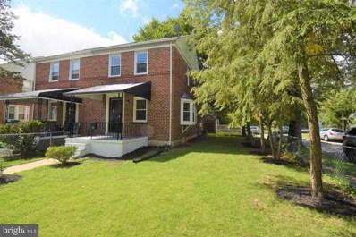 4810 Crowson Avenue, Baltimore, MD 21212 - #: MDBA526506