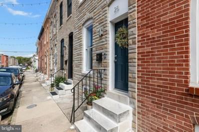 25 N Streeper Street, Baltimore, MD 21224 - #: MDBA526516