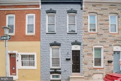 137 N Glover Street, Baltimore, MD 21224 - #: MDBA526530